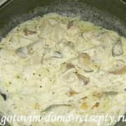 грибы жареные в сметане рецепты