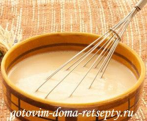 как приготовить блины на молоке 1