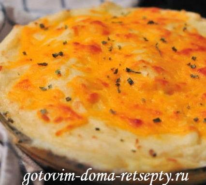 овощная запеканка с картофелем 1
