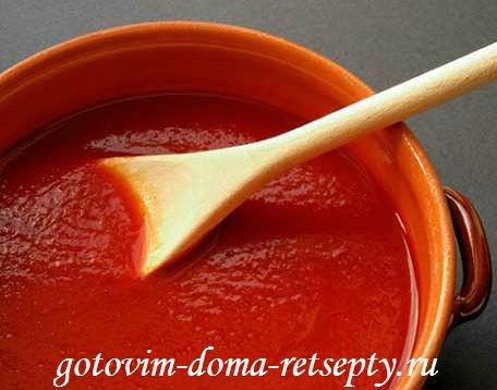 мясные тефтели в томатном соусе 2