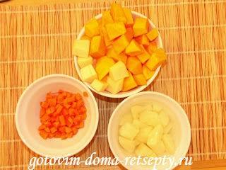 тыквенный суп-пюре рецепт1