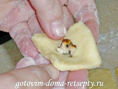 домашнее печенье с орехами 4