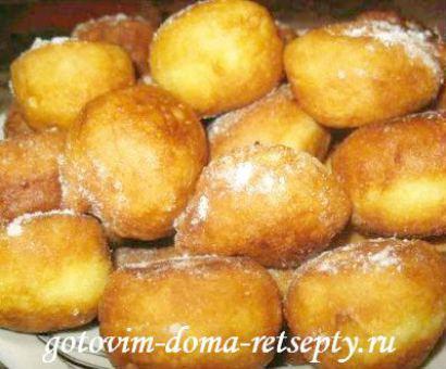 как приготовить пончики из теста 2