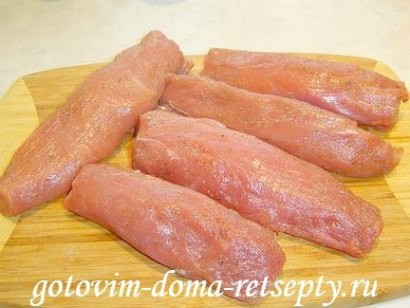 жаркое из свинины с грибами 1