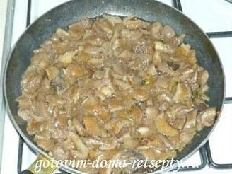 жаркое из свинины с грибами 3