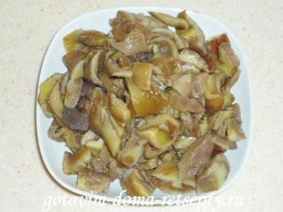 тушеное мясо с грибами 5