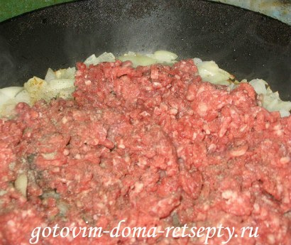 фаршированные блинчики с мясом 2