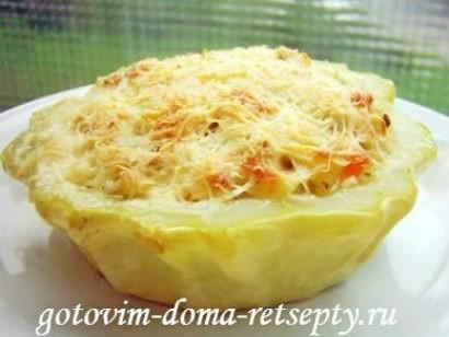 блюда из патиссонов рецепты