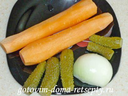 салат из красной рыбы с огурцами 2
