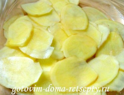 запеканка из картофеля с сыром 1