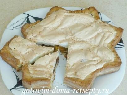 сливовый пирог из песочного теста
