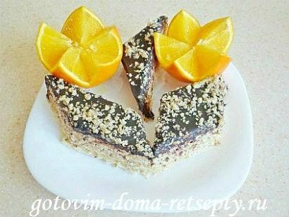 вафельный торт из коржей 13