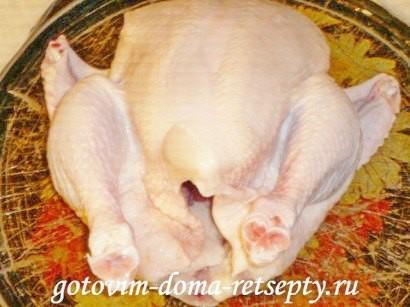 Курица в железной банке в духовке рецепт