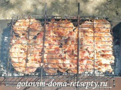 отбивные из свинины на решетке 12