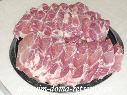 отбивные из свинины на решетке 2