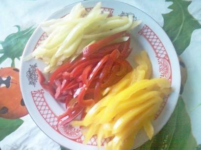 салат с болгарским перцем и брынзой 2