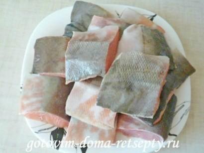 запеченная рыба в духовке в фольге1