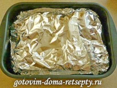 запеченная рыба в духовке в фольге4
