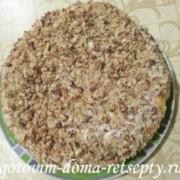 торт из тыквенных блинов