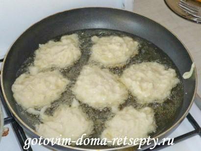 оладьи из кабачков с чесноком 5