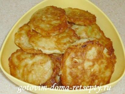 оладьи из кабачков с чесноком 7