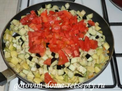 овощное рагу из баклажанов 4