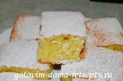 лимонный пирог, рецепт