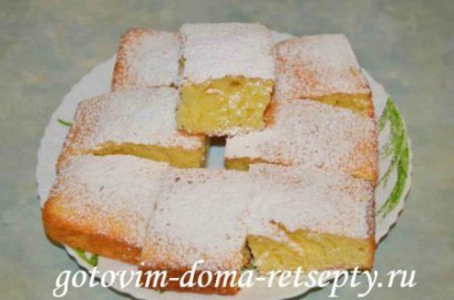 лимонный пирог, рецепт 5