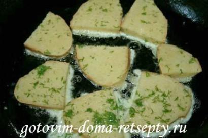 гренки из хлеба, рецепт с молоком и яйцами 7