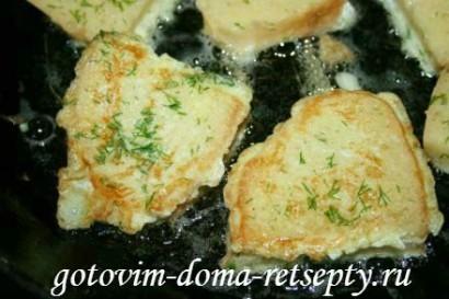 гренки из хлеба, рецепт с молоком и яйцами 8