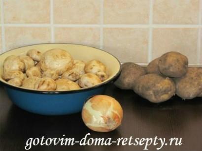 грибной суп из шампиньонов рецепт 1