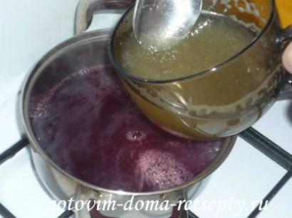 как приготовить желе из сока и желатина 9