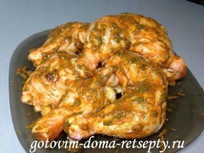куриные окорочка рецепт в духовке 4