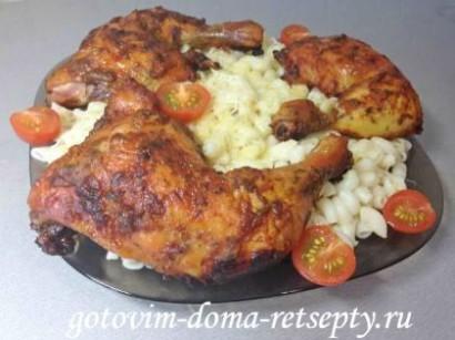 куриные окорочка рецепт в духовке 6