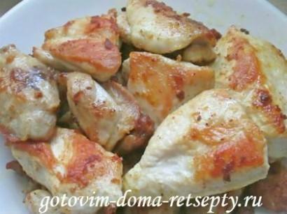 курица с сыром и картофелем 4
