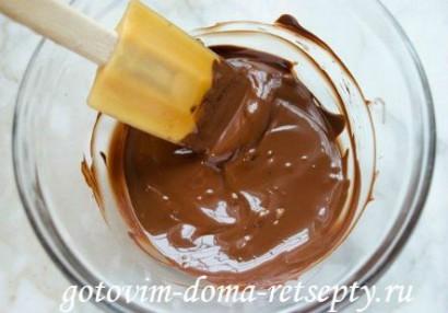 шоколадные маффины с кремом 2