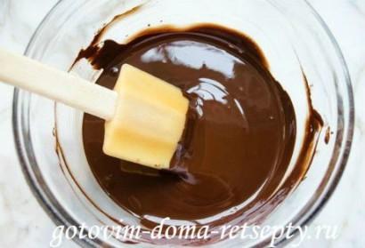 шоколадные маффины с кремом 6