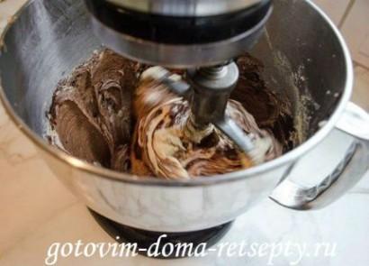 шоколадные маффины с кремом 7
