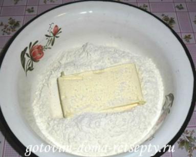 слоеные пирожки с рисом и сыром 2