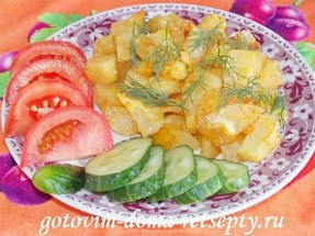 запеченный в духовке картофель с сыром 1