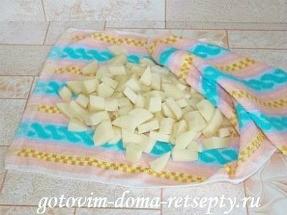 запеченный в духовке картофель с сыром 7