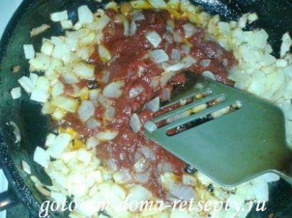 перец фаршированный рисом и куриным фаршем 11