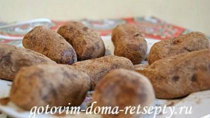 пирожное картошка, рецепт из печенья