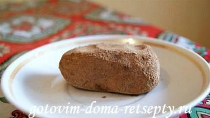пирожное картошка, рецепт из печенья 9