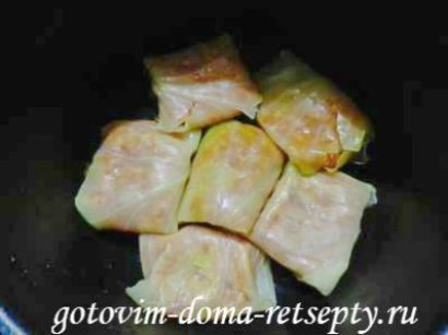 голубцы с фаршем и рисом, рецепт в мультиварке 14