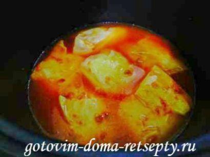 голубцы с фаршем и рисом, рецепт в мультиварке 20