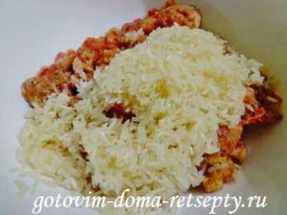 голубцы с фаршем и рисом, рецепт в мультиварке 8
