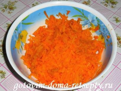 картофельная запеканка с морковью и орехами 3