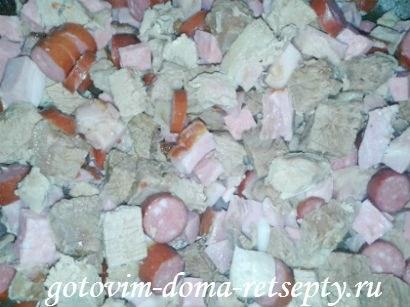 сборная мясная солянка, рецепт без огурцов 91