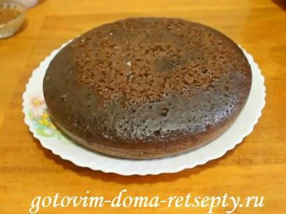 шоколадный торт в мультиварке 11